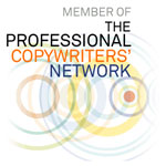 Logo for The Professional Copywriters' Network