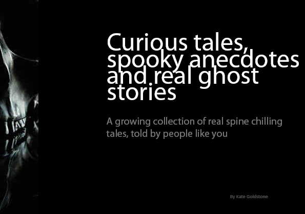 My ebooks: ebook cover for a collection of ghost stories by Kate Goldstone